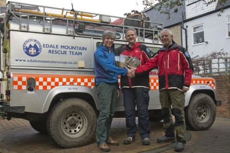 Peak Rockfax Guidebooks Donated to Edale Mountain Rescue