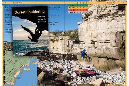 Dorset Bouldering – A New Book From Rockfax